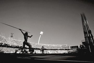 The javelin throw (Getty Images)