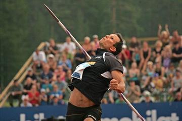 Tero Pitkamaki retakes the national title at the 2010 Finnish championships (Paula Noronen)