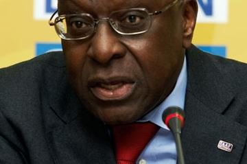 IAAF President Lamine Diack during the Press Conference (Getty Images)