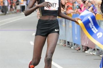 Commanding Central Park victory for Linet Masai (New York Road Runners)