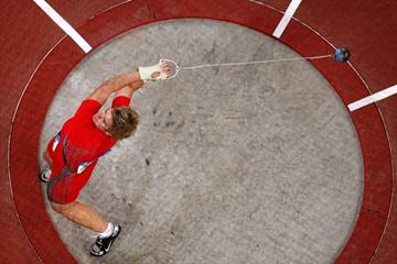 Anita Wlodarczyk in the Beijing Olympic final (/Bongarts)