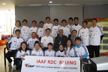 CECS Level I Lecturers course - group photo (IAAF)