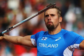 Finnish javelin thrower Antti Ruuskanen (Getty Images)