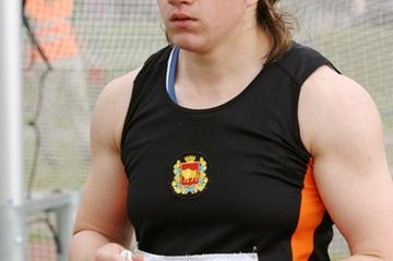 Olympic Hammer Throw finalist Darya Pchelnik (BLR) in Brest (Nastassia Marynina)