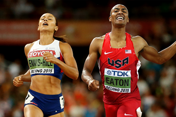 Jessica Ennis-Hill and Ashton Eaton (Getty Images)