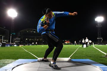 Valerie Adams in Melbourne (Getty Images)