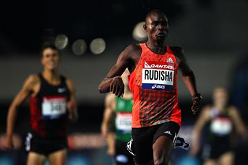 David Rudisha wins in Melbourne (Getty Images)