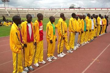 World Youth Championships team together after Kenyan trials at the Nyayo stadium, Nairobi (David Macharia)