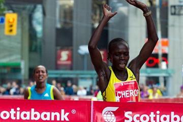 2:22:42 breakthrough for Sharon Cherop in Toronto (Scotiabank Toronto Waterfront Marathon organisers)
