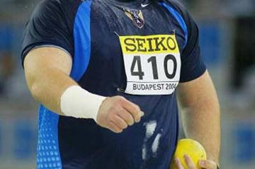 Christian Cantwell (USA) winner of the Shot Put final (Getty Images)