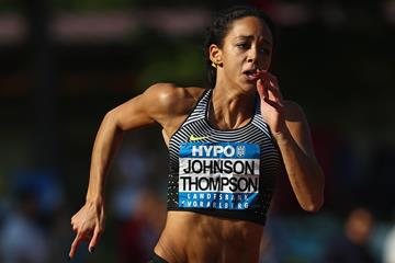 Katarina Johnson-Thompson at the 2016 Hypo Meeting in Gotzis (Getty Images)