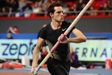 Renaud Lavillenie returns to action in Donetsk with a victory at 5.82m (Donetsk Organisers)