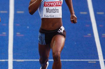 African 400m champion Amantle Montsho in Berlin (Getty Images)