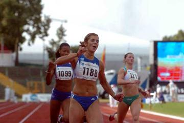 Maria Karastamáti sets U23 championships record in Erfurt (Hasse Sjögren)