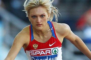 Irina Davydova en route to European gold in Helsinki (Getty Images)
