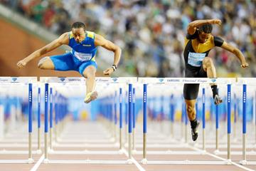 Another exciting Diamond League clash between Aries Merritt and Jason Richardson (Jiro Mochizuki)