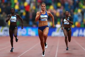 Dafne Schippers dominates the 200m in Hengelo (Getty Images)