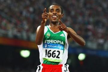 Kenenisa Bekele sprints away to take 5000m gold (Getty Images)