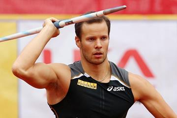 Finnish javelin thrower Tero Pitkamaki (Getty Images)