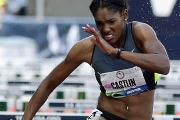 US sprint hurdler Kristi Castlin (Randy Miyazaki)
