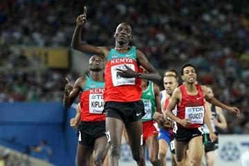 Kenyan 1500m runner Asbel Kiprop (Getty Images)