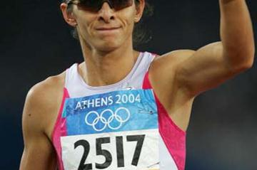 Ana Guevara of Mexico - winner of the 400m semi-final (Getty Images)