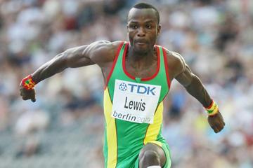 Grenadian triple jumper Randy Lewis (Getty Images)
