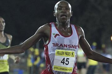 Gladwin Mzazi nabs a 5000m win in Stellenbosch (Image SA)