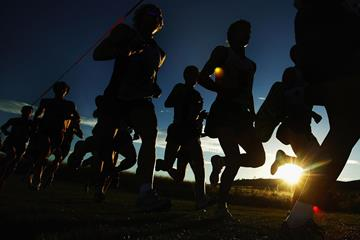 Cross-country runners in action (Getty Images)