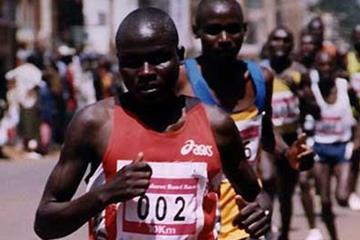 Thomas Kipkemoi wins in Eldoret (David Macharia)