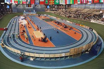 Palau Velódromo Luis Puig - venue for the 12th IAAF World Indoor Championships, Valencia, Spain, Friday 7 – Sunday 9 March 2008 (RFEA)