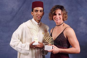Hicham El Guerrouj and Stacy Dragila - 2001 World Athletes of the Year (Getty Images)