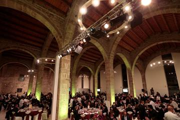 The IAAF Centenary Welcome Dinner in Barcelona's Maritim Museum (Emilio Andreoli)