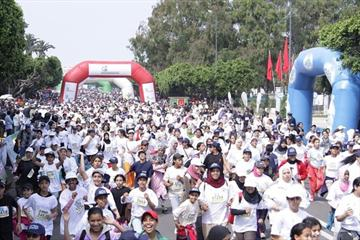 More than 22,000 at the Course de la Victoire in Rabat (Mohammed Benchrif)