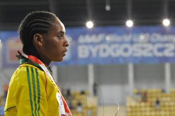3000m winner Beyenu Degefa at the IAAF World U20 Championships Bydgoszcz 2016 (Getty Images)