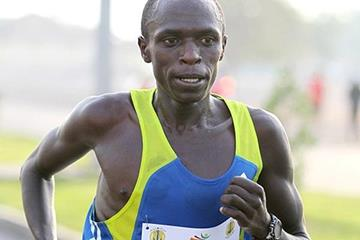 John Kiprotich at the RAK Half (Victah Sailer)