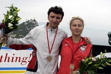 2005 Gibraltar WMRA GP - Vicente Capitan Pena (SP) and Izabella Zatorska (POL) (c)