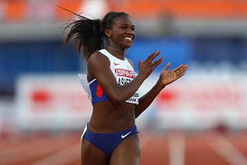 Dina Asher-Smith wins the 200m at the European Championships (Getty Images)