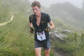 Slovenian mountain runner Nejc Kuhar ()