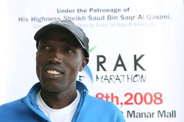 Paul Kosgei in Ras Al Khaimah (Victah Sailer)