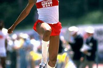 Willie Banks (USA) - who held the World Triple Jump record for 10 years (Getty Images)