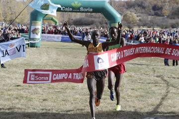 Uganda's Dickson Huru wins the men's race (Organisers)