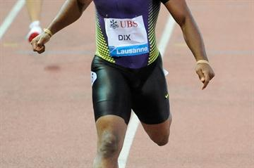 Another Samsung Diamond League 200m victory for Walter Dix, this time in Lausanne (Deca Text&Bild)