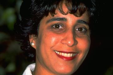 Nawal El Moutawakel in May 1997 (Getty Images)
