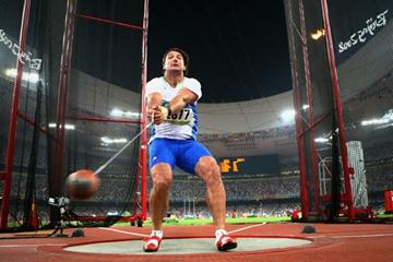 Primož Kozmus, Olympic hammer champion (Getty Images)