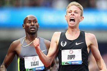 Galen Rupp defeats Bernard Lagat to take the US 5000m title (Getty Images)