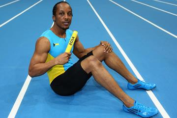 Bahamian sprinter Chris Brown (Getty Images)