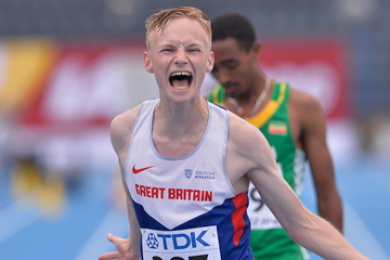 Callum Wilkinson wins the 10,000m race walk at the IAAF World U20 Championships Bydgoszcz 2016 (Getty Images)