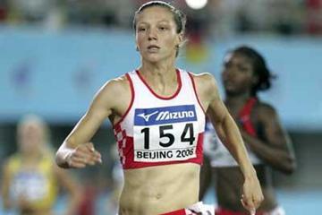 Danijela Grgic of Croatia during the women's 400m semi-final (Getty Images)