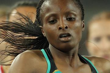Kenya's Hellen Obiri in action (Getty Images)